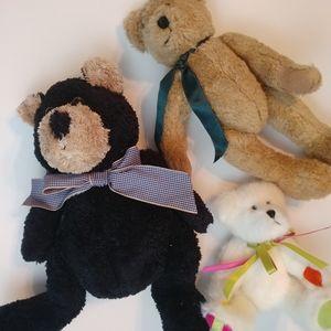 4/$15 🌻 Bundle of 3 Teddy Bears